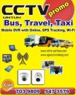 Cctv untuk Bis, Travel, Taxi with 3G Online, GPS, Wifi