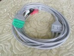 GE DASH 3000 ECG CABLE