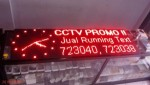 Running Text Outdoor